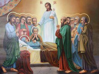 28 августа — Успение Божией Матери.