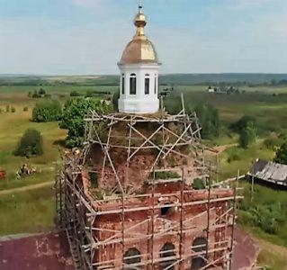 Восстановление кровли храма и ремонта крыши.