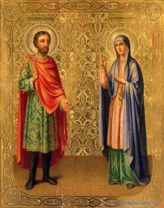 8 сентября - день памяти мучеников Адриана и Наталии.